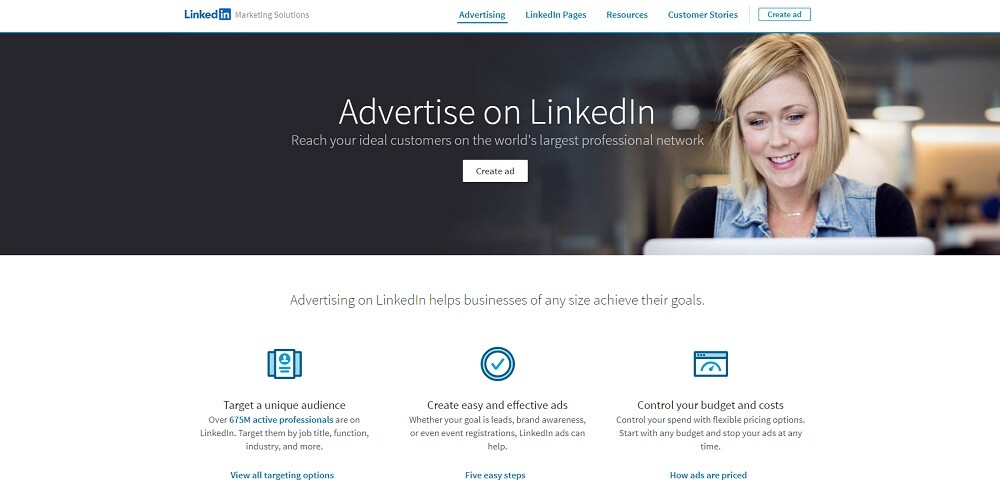LinkedIn Pay-Per-Click Advertising