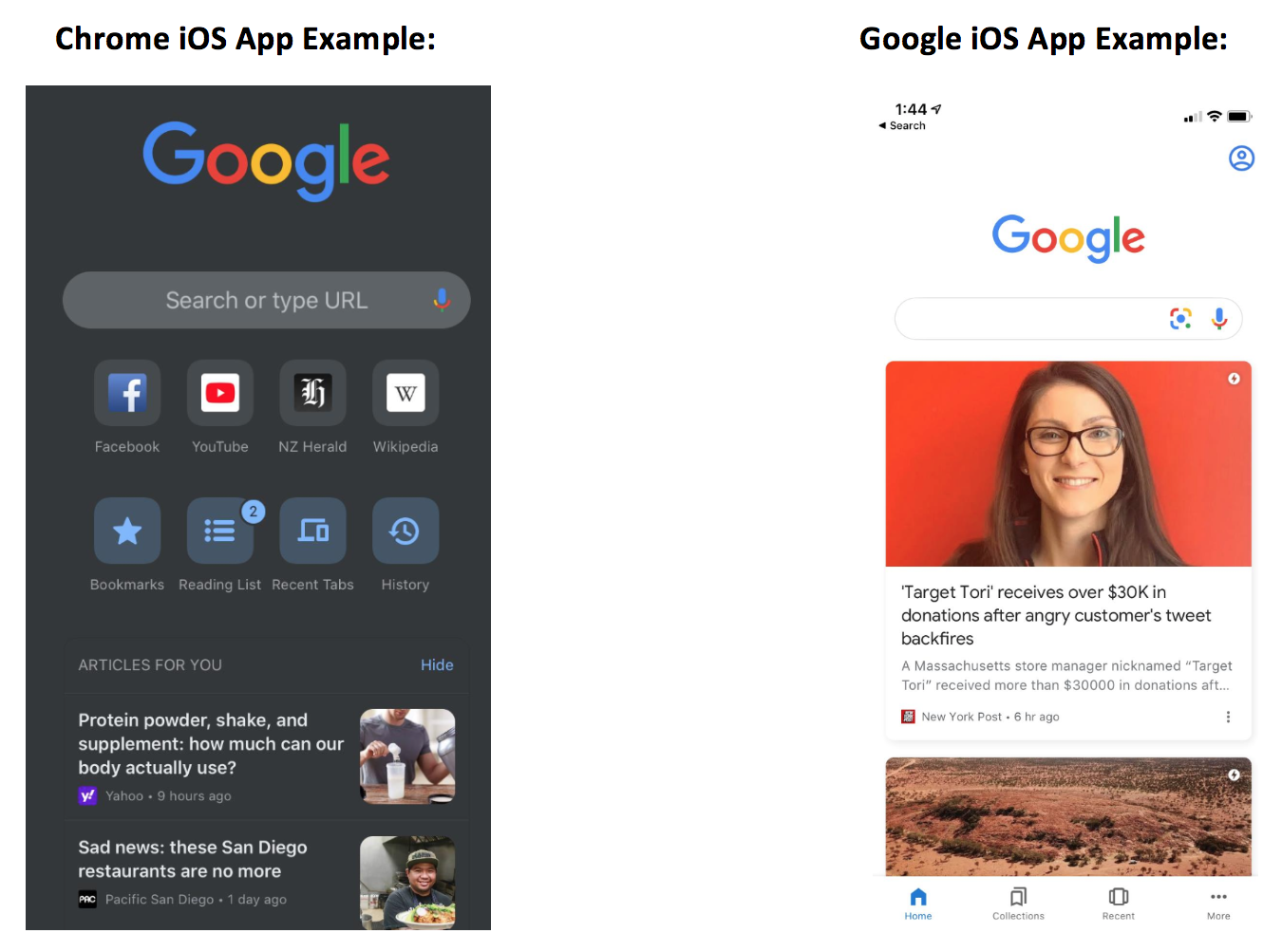 Iphone Google Discover